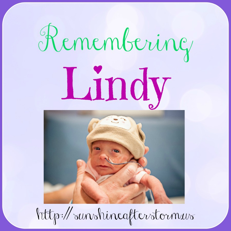 Our story of infant loss… remembering Lindy