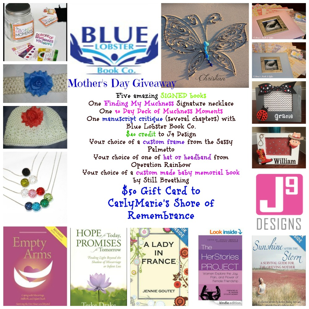 The Mother's Day Campaign for Bereaved Mother's {Big Giveaway!}