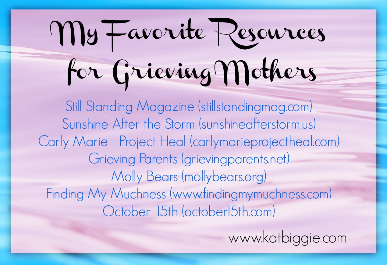 Resources for a Grieving Mother