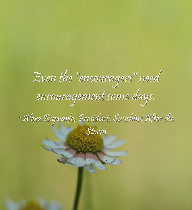 encouragement for grieving mothers